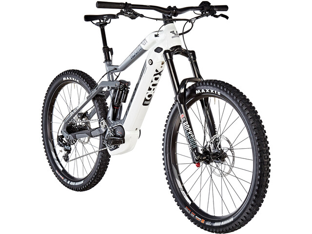 HAIBIKE XDURO Nduro 3.0 E-MTB fullsuspension grå/hvid (2019) | Mountainbikes